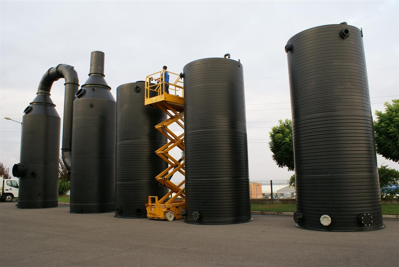 化工储管、塔器、脱硫装置